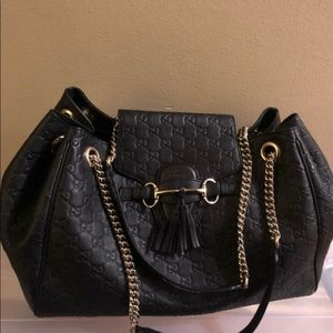 Gucci Bags - Gucci Emily Large Chain Shoulder Bag